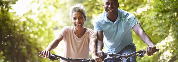 couple biking medical weight loss